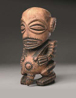 RAROTONGA, COOK ISLANDS; FISHERMAN'S GOD  - 'ORAMATUA, LATE 18TH TO EARLY 19TH CENTURY; WOOD, PAINT; 12 13/16 X 6 1/8 X 5 11/16 INCHES; THE BRITISH MUSEUM, LONDON; © THE TRUSTEES OF THE BRITISH MUSEUM. ALL RIGHTS RESERVED.