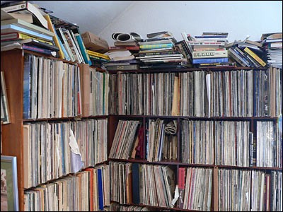 Somebody is probably just looking at this heap of records in their den right now thinking they should unload them on Sunday at the American Czech Center. You should probably be there to score some.