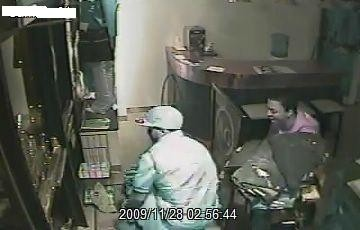 Surveillance footage captured at Adriano Goldschmied on Nov. 28 - COURTESY OF SLMPD