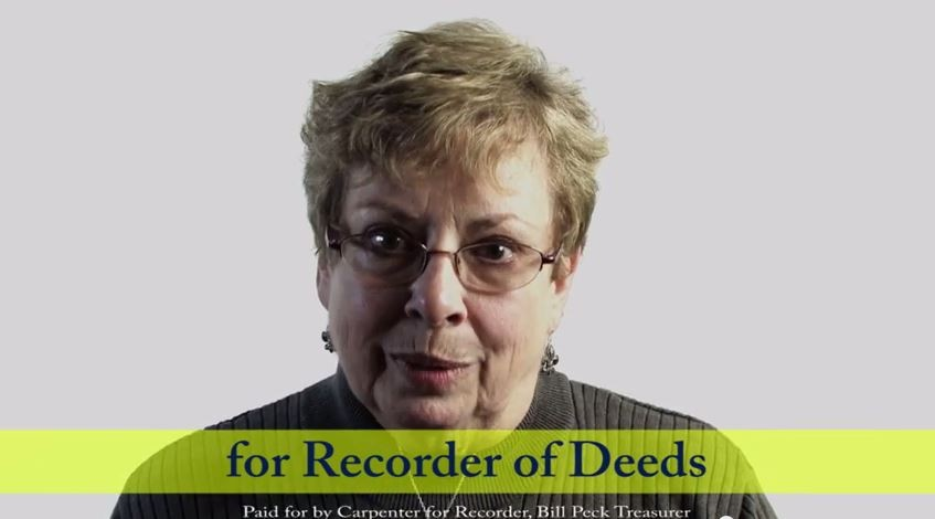 Sharon Carpenter is hoping St. Louisans reelects her to Recorder of Deeds on November 4. - VIA