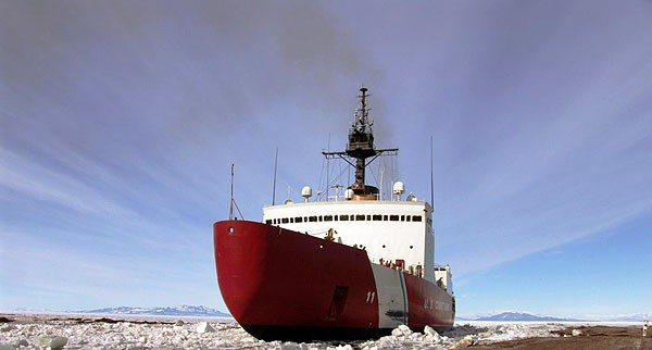 An icebreaker ship. - PHOTO COURTESY OF THE NATIONAL SCIENCE FOUNDATION