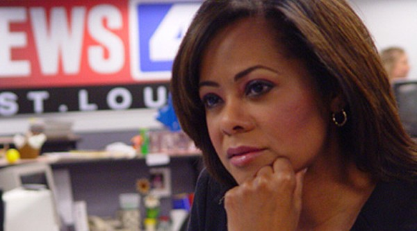 Former co-anchor Vickie Newton, who, according to Conners, was paid more because of her race and gender. - VIA KMOV.COM