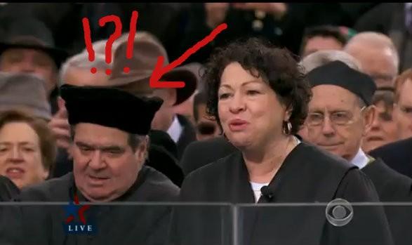 Justice of the supreme cap? - CBS SCREENGRAB