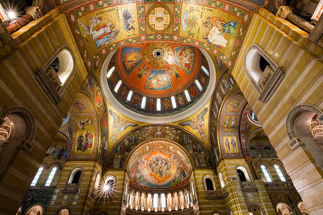 Inside the Cathedral Basilica. - MATTHEW ON FLICKR