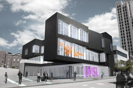 A rendering of KWMU's future digs. - NEWS.STLPUBLICRADIO.ORG