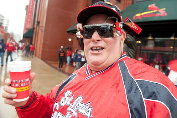 St. Louis: Home of the No. 1 fans in baseball. - JON GITCHOFF