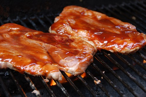 Mmmmm, pork steak! - DAVID HERHOLZ VIA FLICKR