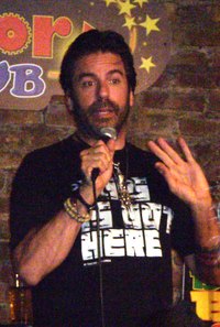 The late Greg Giraldo - IMAGE VIA