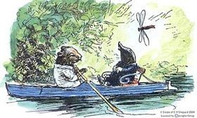 How can you not say this is one of the most romantic illustrations in children's literature?