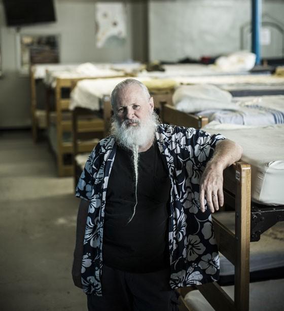 Tom Burnham, director of shelter services at Peter & Paul Community Services. - JENNIFER SILVERBERG