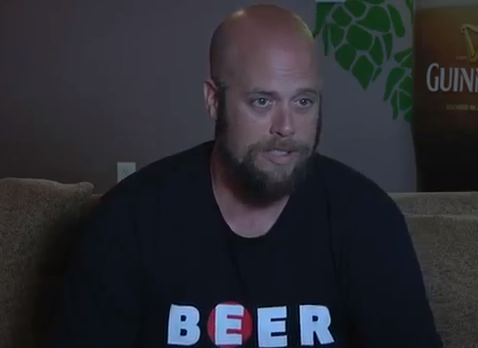 Jeff Britton, owner at Exit 6 Pub and Brewery. - YOUTUBE