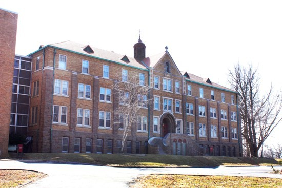 The former Incarnate Word Convent at 2900 Bellerive Drive.