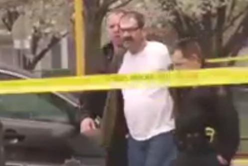 Police arrest Glenn Miller. - YOUTUBE