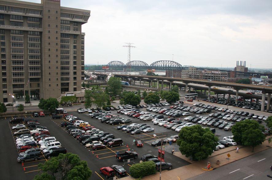 If there is a hell, it probably looks like a parking lot. - FLICKR/JERAMEYJANNENE