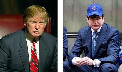 Which will offend Trump the most: Blago's lack of business sense, his baseball allegiance or his hair?