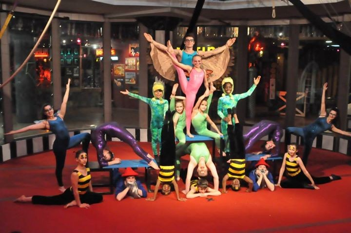 The cast rehearses for Circus Harmony's new show, Guibilante. - ALL PHOTOS COURTESY OF CIRCUS HARMONY