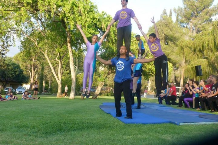 Circus Harmony at Kibbutz Shamir in Israel.