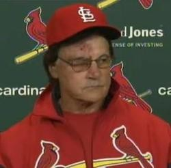 La Russa's gone, but there's still ugliness out there in #CardinalNation.