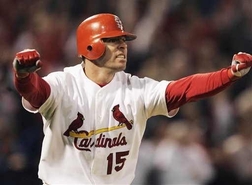 Edmonds, the man who brought us a miracle in 2004, then gave us David Freese on his way out the door.
