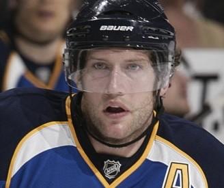 David Backes to the rescue. - VIA BLUES.NHL.COM