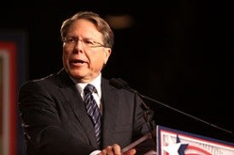 Wayne LaPierre of the NRA - IMAGE VIA