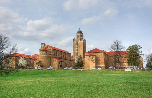 The seminary where the abuse allegedly took place a decade ago. - VIA