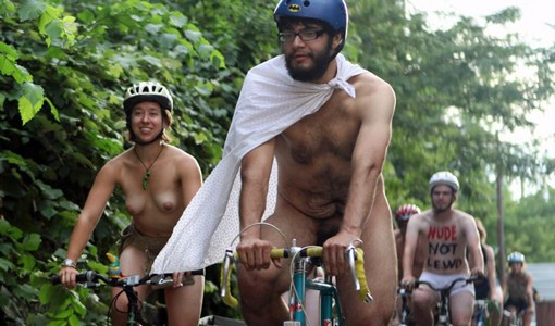View more photos from Denver's naked bike ride, held over the weekend here.