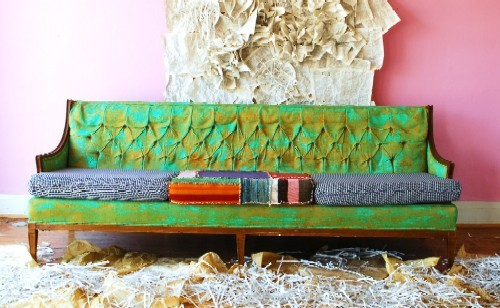 Come see this Jipsiboho sofa at FORM on Friday or Saturday. - COURTESY OF JIPSIBOHO