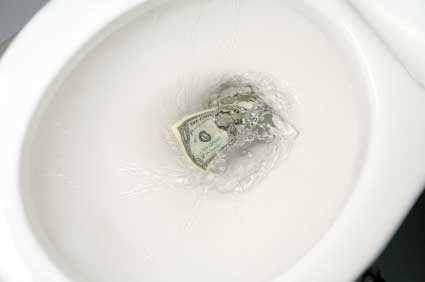 Bill would send $38.7 million in federal funds down the crapper.