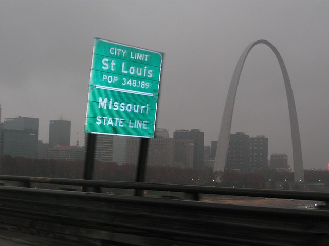 Welcome to St. Louis, the city with the third nicest drivers! - ANDREW WARREN ON FLICKR