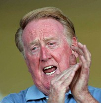 Vin Scully, baseball's chattiest Cathy. - WIKIPEDIA