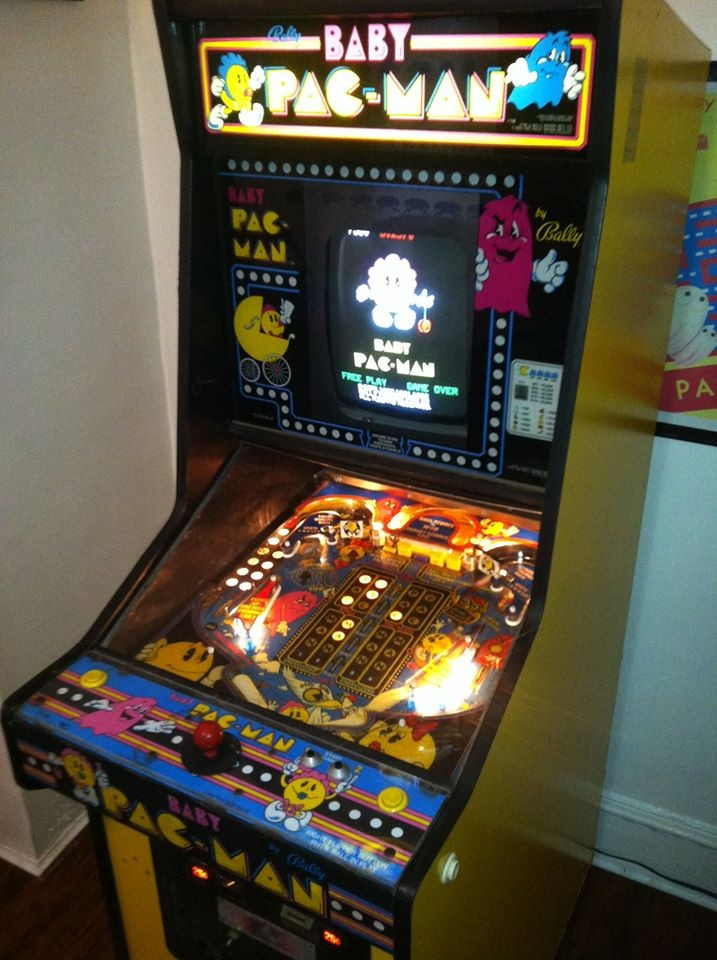 For Sale on Craigslist: Sweet Baby Pac-Man Arcade/Pinball Game
