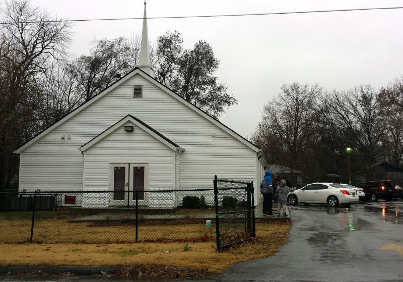 West Calvary Mission Baptist Church in Jennings. - JESSICA LUSSENHOP