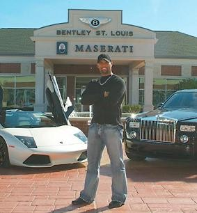 St. Louis tax collectors and exotic car dealers are going to miss this guy. - HOTCARSTV.BLOGSPOT.COM