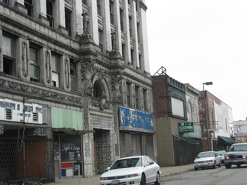 Downtown East St. Louis - FLICKR.COM/PHOTOS/BINKLE76