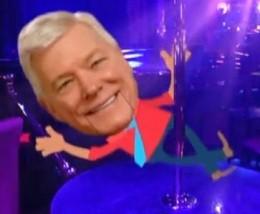 Peter Kinder: Loves him some pole!