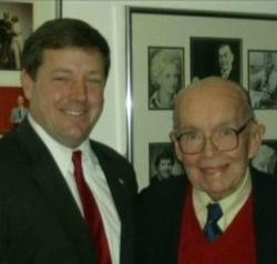 Ed Martin (left) wants his friend Martin Duggan to host the debates. - EDMARTINFORCONGRESS.COM