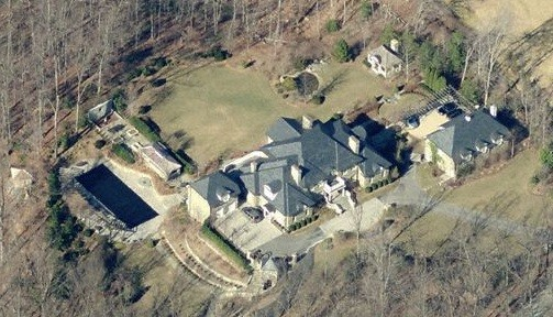 Franke's former home in Virginia is now said to be owned by baseball star Jayson Werth.