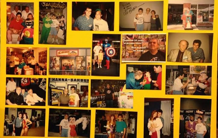 A photo collage of Steve Koch, made by his children. - COURTESY OF THE KOCH FAMILY