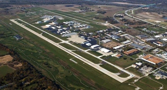 The airport near the crash. - VIA SPIRITAIRPORT.COM