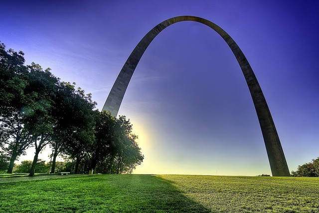The Gateway Arch is a little cheaper today. - FRANCISCO DIEZ VIA FLICKR