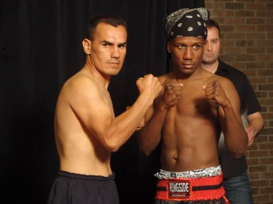 """Dangerous"" Danny Williams (right) takes on Antonio ""El Bazooka"" Cervantes (left) on ESPN's Friday Night Fights tonight. - ALBERT SAMAHA"