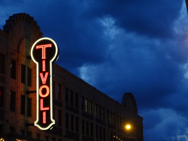 The Tivoli Theatre, where John Thompson became famous in St. Louis for his bright smile and kind heart. - PAUL SABLEMAN, FLICKR
