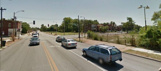 This is where 25-year-old Darryl Reed was fatally shot in a drive-by - IMAGE VIA GOOGLE MAPS