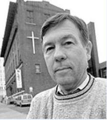 Reverend Larry Rice outside of New Life Evangelistic Center. - JENNIFER SILVERBERG