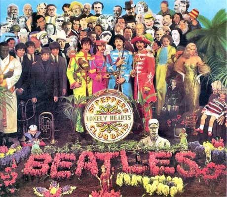 "The Beatles' 1967 concept album, ""Sgt. Pepper's"""