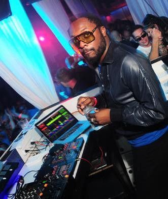 Black Eyed Pea member Will.I.Am. deejaying at Lure this month. - PHOTO: EGAN O'KEEFE