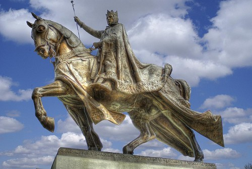 King Louis IX: saint, crusader, good to Christians, really, really, really mean to Jews. - FLICKR.COM/PHOTOS/BESTRATED1