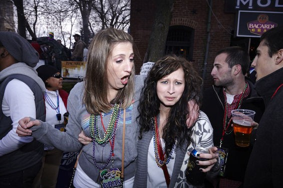 Mardi Gras in St. Louis: Time to party! - PHOTOS BY STEVE TRUESDELL