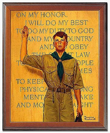 """""""We qualify for exemption from the ban -- Scout's honor."""""""